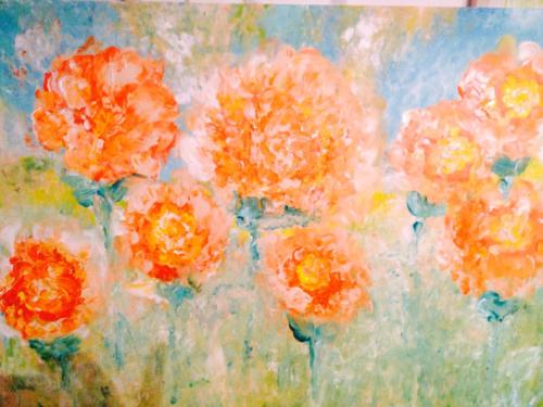 Blumen Malerei